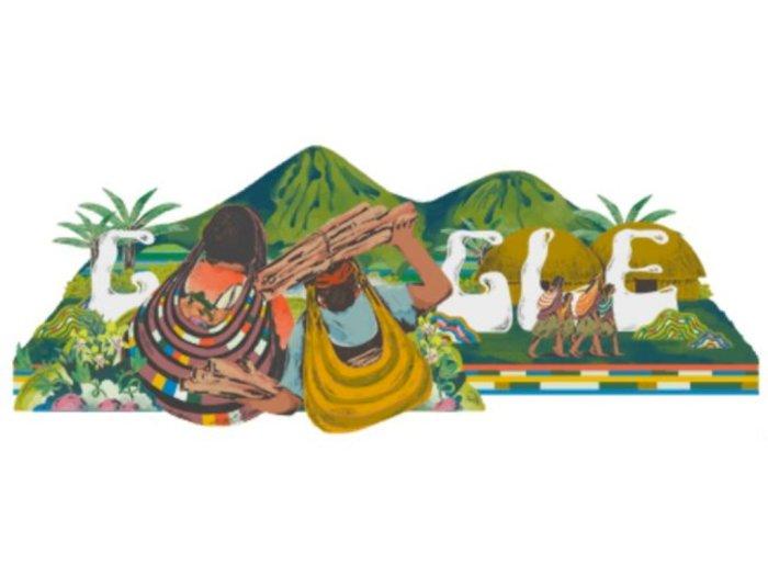 Google Doodle Hari Ini Rayakan Noken, Tas Tradisional Papua