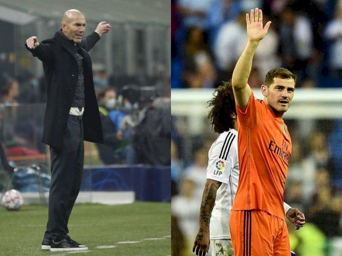 Casillas: Zidane Berhak untuk Tetap Dipercaya di Real Madrid