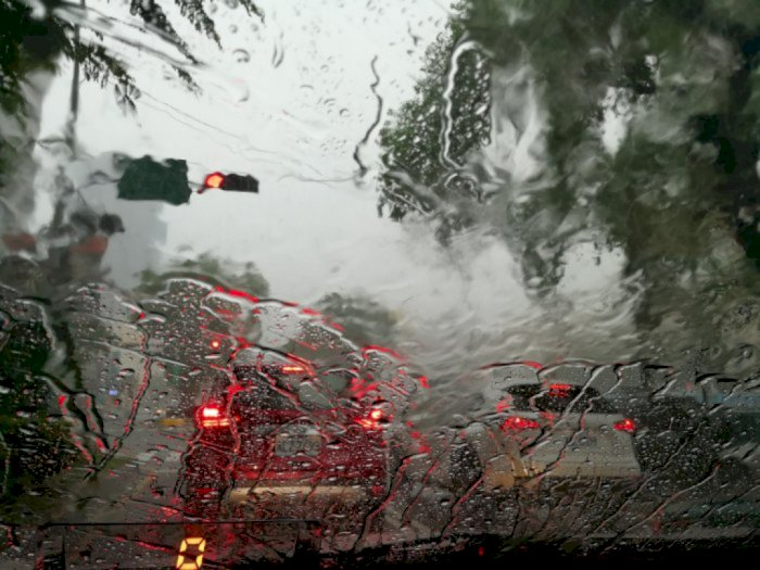 Hari Ini Sebagian Wilayah DKI Jakarta Berpotensi Hujan Disertai Angin Kencang