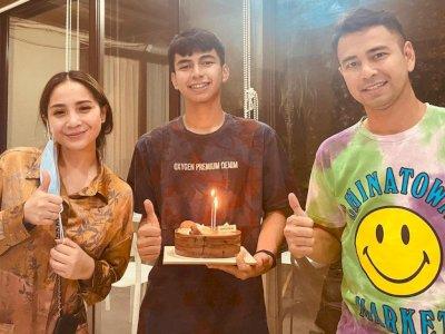 Dimas Ramadhan Ulang Tahun, Raffi Ahmad: Selalu 'Menginjak Bumi'