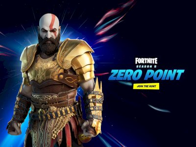 Epic Games Hadirkan Skin Kratos dari God of War di Game Fortnite!