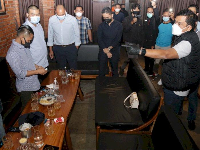 Polda Metro Sidak Bar di Jakarta, Pelanggar Prokes Ditemukan