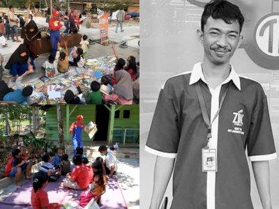Inspiratif! Salesman Ini Dirikan Rumah Literasi, Undang Presiden Jokowi untuk Peresmiannya