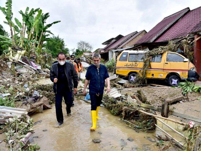 Alhamdulillah, Bantuan Mulai Berdatangan Untuk Korban Banjir di Tanjung Selamat