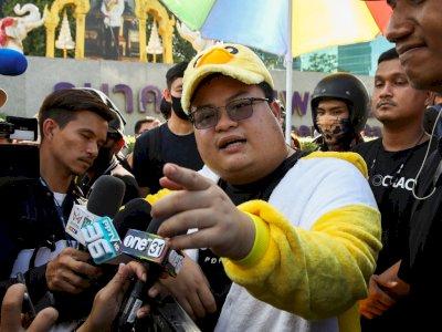 MK Thailand Minta Pimpinan Demo 'Penguin' Ditindak Terkait Statusnya di FB, Kenapa?