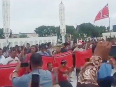 Massa Kibarkan Bendera GAM Hingga Bentuk Blokade, Kapolda Minta Jaga Perdamaian di Aceh