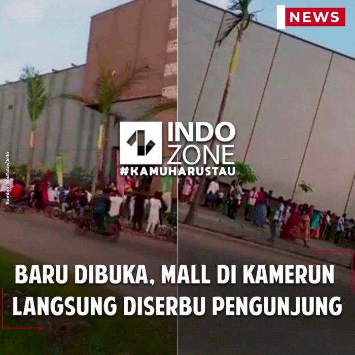 Baru Dibuka, Mall di Kamerun Langsung Diserbu Pengunjung