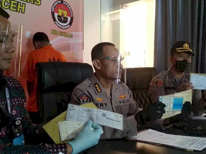 Polda Aceh Ungkap Penipuan Jual Beli Mobil, Total Kerugian Capai Rp1,35 Miliar