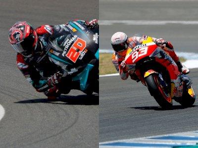 Marquez Ditantang Quartararo di MotoGP 2021 Usai Menjalani Operasi