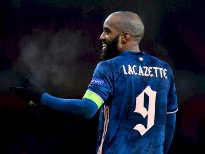 Lacazette Dianggap Cocok Bermain Sebagai Gelandang Serang di Arsenal