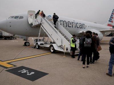 Bawa Awak Media, Boeing 737 Max Selesaikan Penerbangan Pertamanya Tanpa Insiden