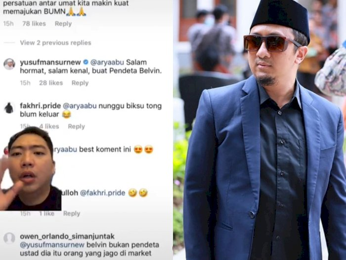 Disebut Pendeta Oleh Ustadz Yusuf Mansur, Belvin Tannadi Klarifikasi
