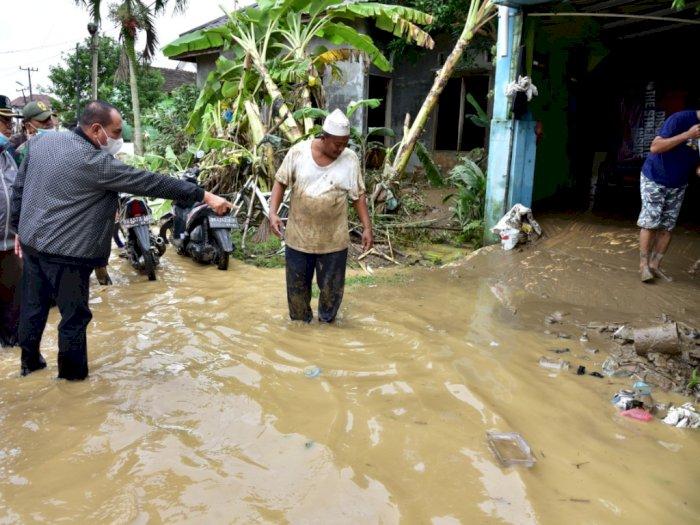 Pascabanjir Tanjung Selamat, Warga dan Tim Gabungan Bersihkan Lumpur, Sampah dan Kayu