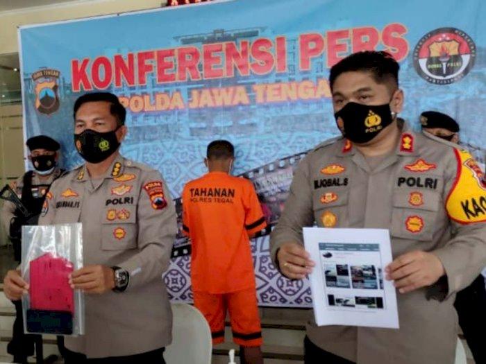 Viral Video Azan Jihad Usung Senjata Tajam di Tegal, Polisi Tangkap Dua Pelaku