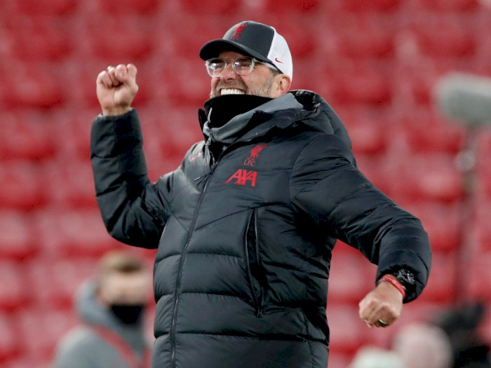Liverpool 4-0 Wolves: Pesta Gol Sambut Kembalinya Fans ke Anfield, Klopp Tersentuh