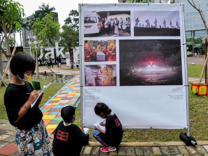 FOTO: Edukasi Foto Jurnalistik Bagi Anak-Anak