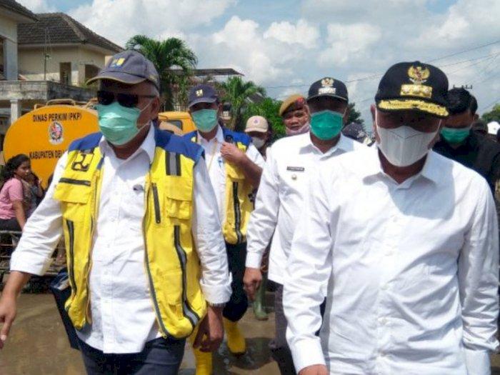 Jebolnya Tebing Sungai Jadi Penyebab Banjir di Tanjung Selamat, Itu kata Menteri PUPR