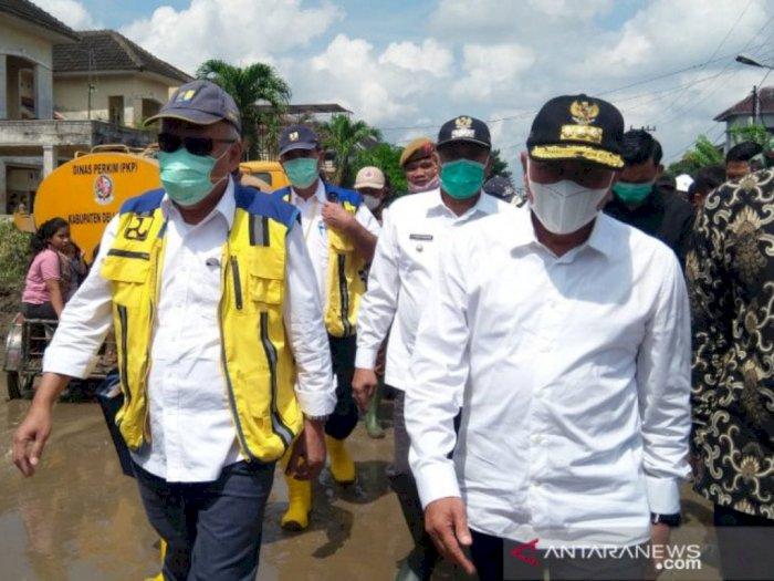 Cegah Banjir Susulan, Menteri PUPR Janji Bangun 'Groundsill' di Sungai Belawan di Medan