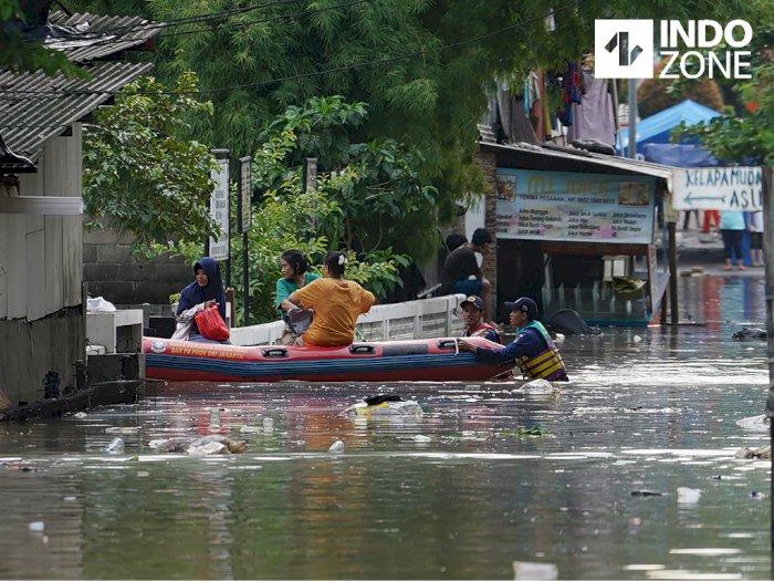 Ini 82 Kelurahan Rawan Banjir di DKI Jakarta