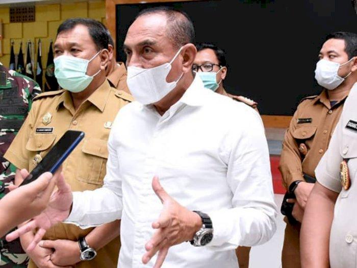 Gubernur Edy Rahmayadi Sebut Kemunculan Virus Corona Gara-gara Maraknya Perjudian