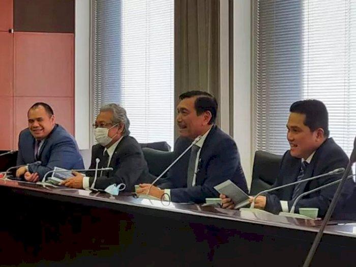 Menko Luhut-Erick Jajaki Kerjasama Investasi dengan UEA dan Arab Saudi, Ini Alasannya!