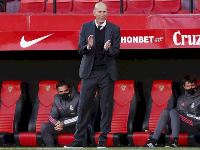 Real Madrid vs Gladbach, Zidane: Saya Fokus ke Liga Champions Tidak Pikirkan Liga Europa