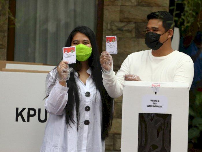 Usai Nyoblos di Pilkada Medan, Menantu Jokowi Pilih Nyantai