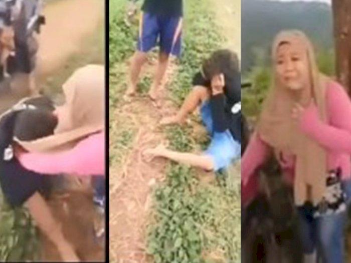 Wik-wik di Kebun dengan Pria Lain Dipergoki Suami Sah, Istri Nangis: Demi Allah Gak Masuk!