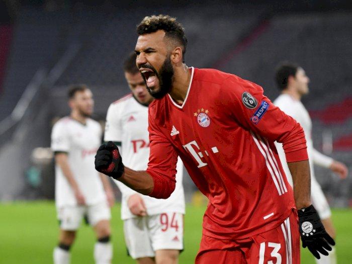 FOTO: Liga Champions, Bayern Munich Kalahkan Lokomotiv Moscow 2-0