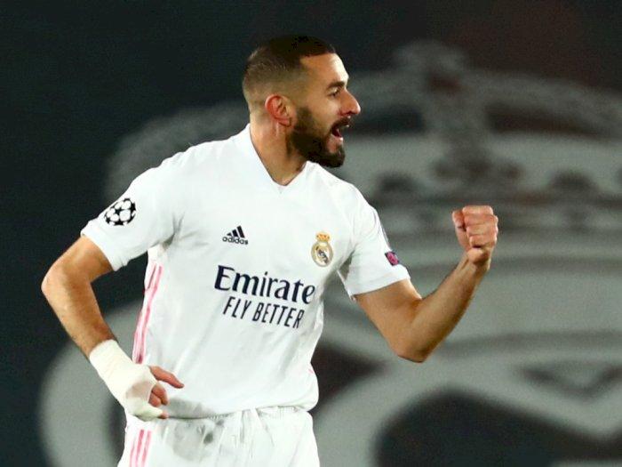 Madrid 2-0 Gladbach, Lolos ke Babak 16 Besar UCL, Dwi Gol Benzema Selamatkan Posisi Zidane