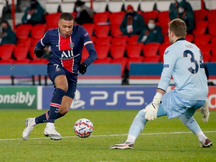 PSG 5-1 Basaksehir: Mbappe Jadi Pemain Termuda yang Capai 20 Gol di Liga Champions