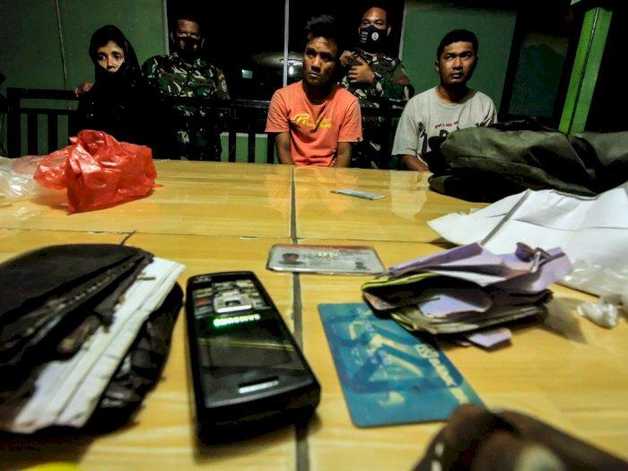 FOTO: TNI Gagalkan Perdagangan Pengungsi Rohingya