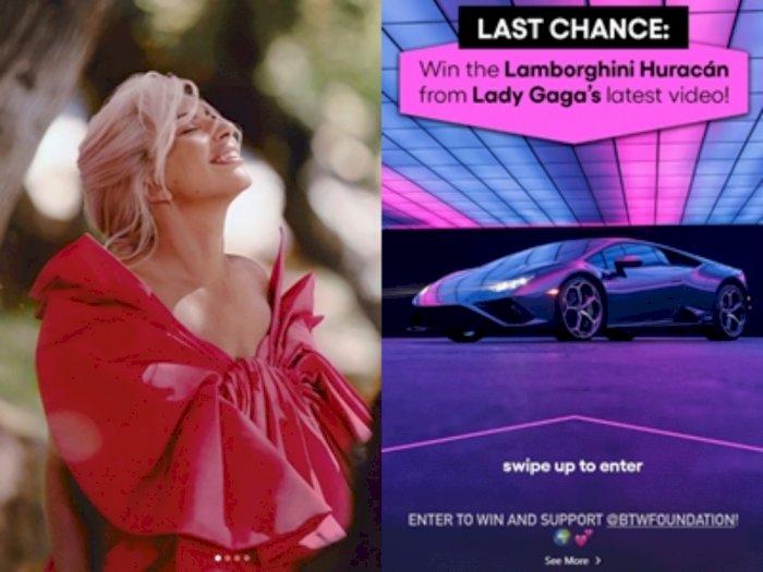 Bantu Korban Covid-19, Lady Gaga Hadiahi Lamborghini Huracán EVO RWD Di Kampanye Amal