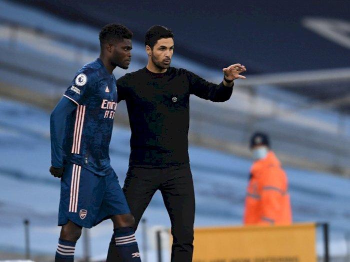 Cedera Pahanya Kambuh, Thomas Partey Dipastikan Kembali Absen Bela Arsenal di Liga Europa