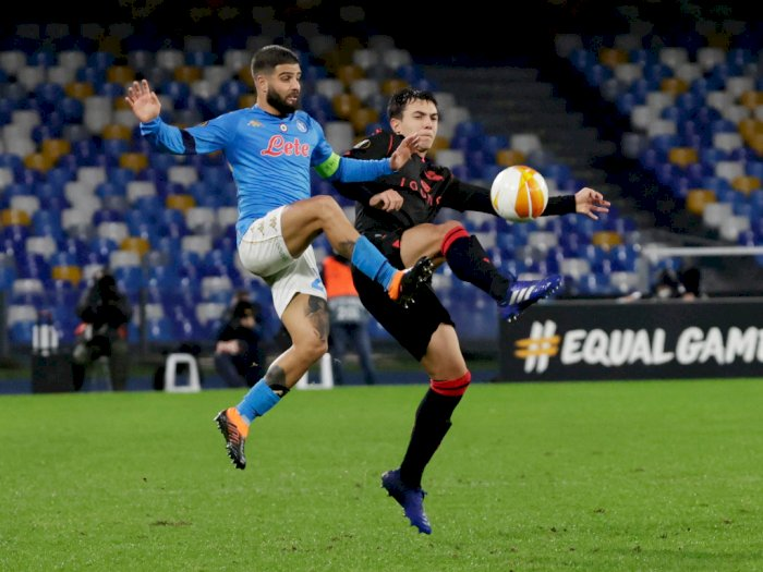 FOTO: Liga Europa, Napoli Ditahan Imbang 1-1 Oleh Real Sociedad