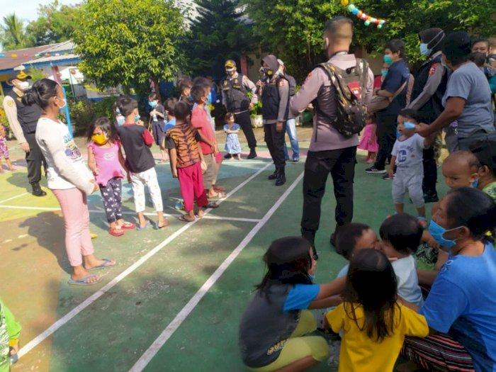 Cegah Gangguan Psikologis, Anak-anak Korban Banjir Medan Diberikan 'Trauma Healing'
