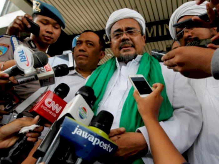 Dua Kali Tak Penuhi Panggilan Penyidik Polda Metro, Habib Rizieq: Saya Tidak Mangkir!