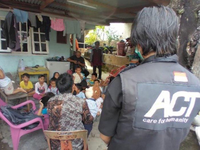 Membantu Trauma Anak Korban Banjir di Medan, ACT Lakukan Ini