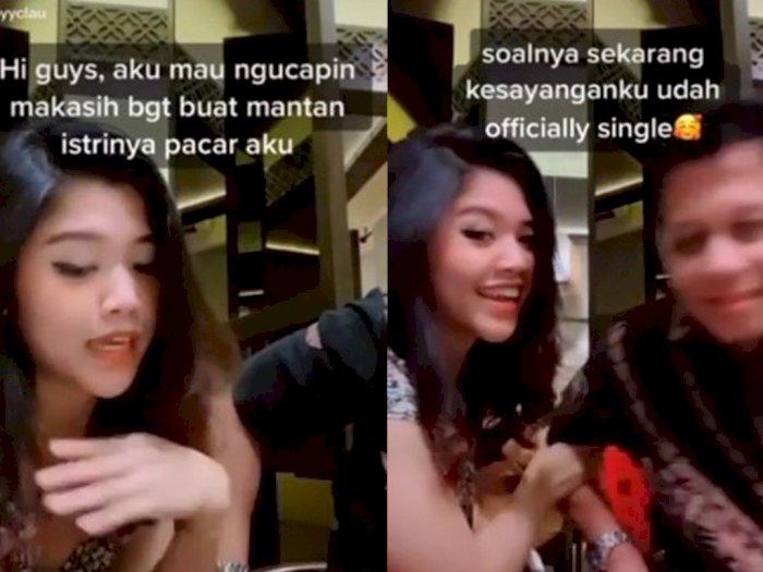 Viral Video Cewek Berterimakasih ke Mantan Istri Pacarnya, Netizen Emosi, Ada Apa?
