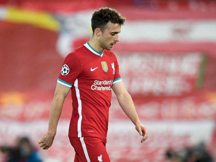Cedera Lutut, Diogo Jota Kemungkinan Menepi Hingga 2 Bulan dari Liverpool