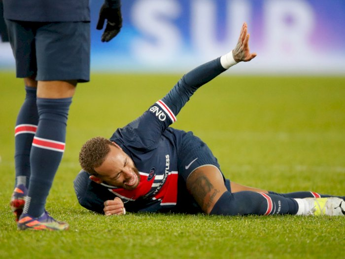 PSG 0-1 Lyon: Neymar Alami Cedera Akibat Tekel Keras Thiago Mendes