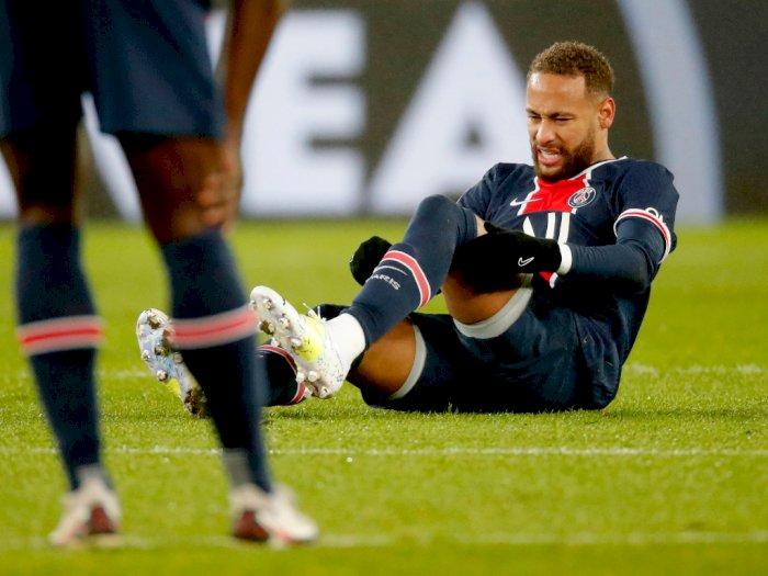 Bersyukur Cederanya Tak Terlalu Parah, Neymar: Tuhan Selamatkan Saya!