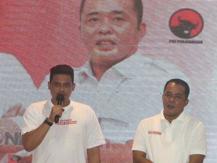 Rekapitulasi KPU Medan: Pasangan Bobby-Aulia Sementara Unggul di 7 Kecamatan