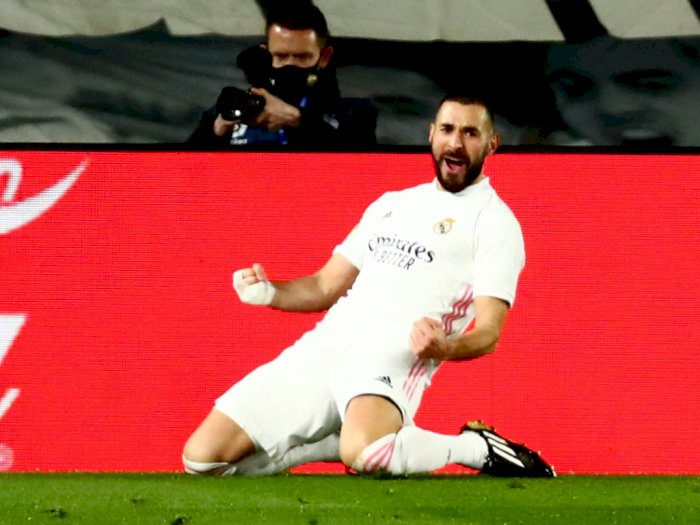 Real Madrid 3-1 Athletic Bilbao, Benzema Cetak 2 Gol, Zidane: Dia Striker Terbaik Prancis