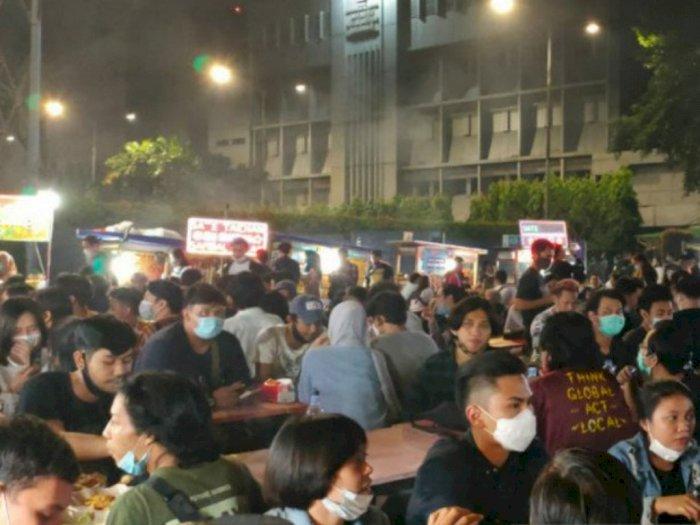 Langgar Protokol Kesehatan, Pedagang Sate Taichan di Senayan City Ditutup