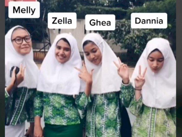 Viral 4 Remaja Unggah Foto Jadul dan Sekarang, Netizen: Glow Up nya Kebangetan