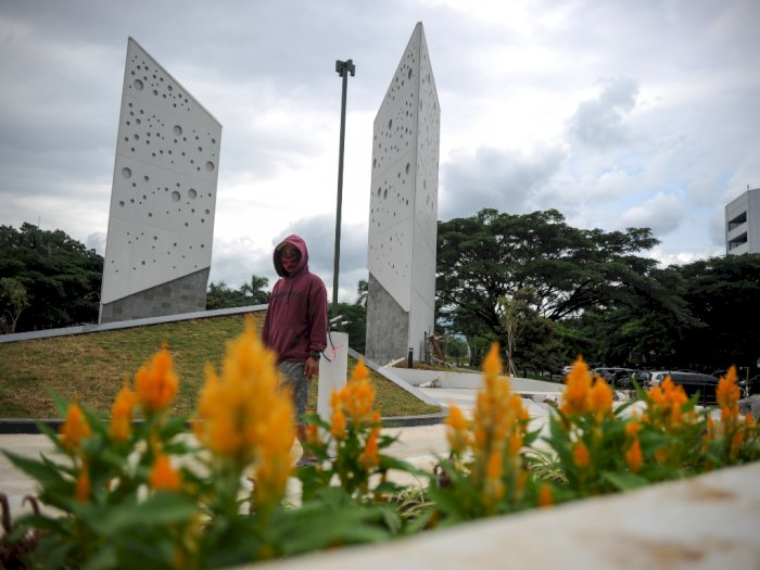 FOTO: Revitalisasi Monumen Perjuangan Rakyat Jawa Barat