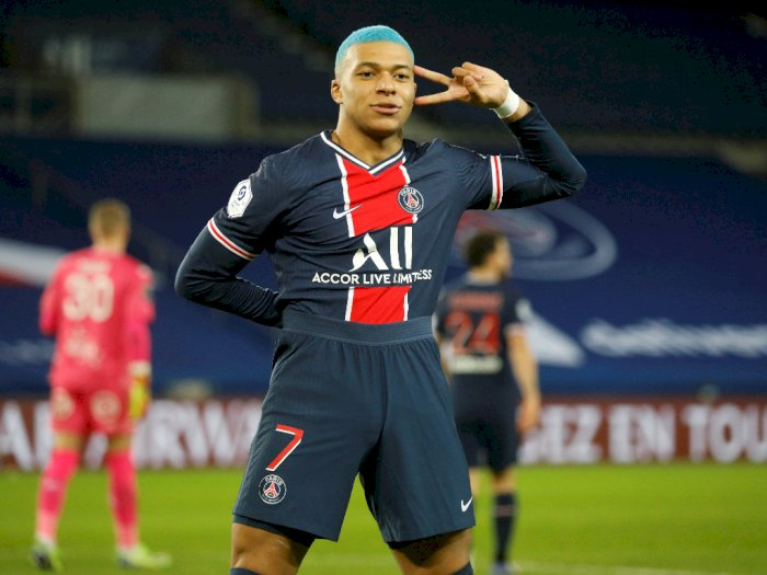 FOTO: Liga Prancis, PSG Menang 2-0 Atas Lorient