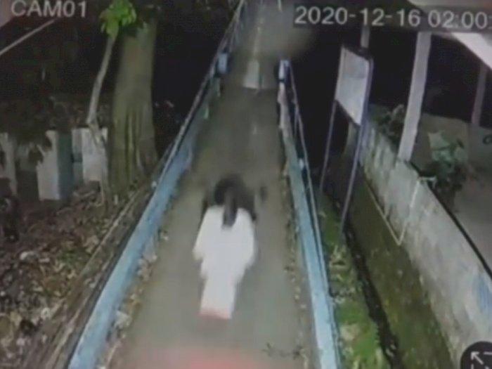 Detik-detik Penampakan Kuntilanak Terekam CCTV dan Fakta di Baliknya