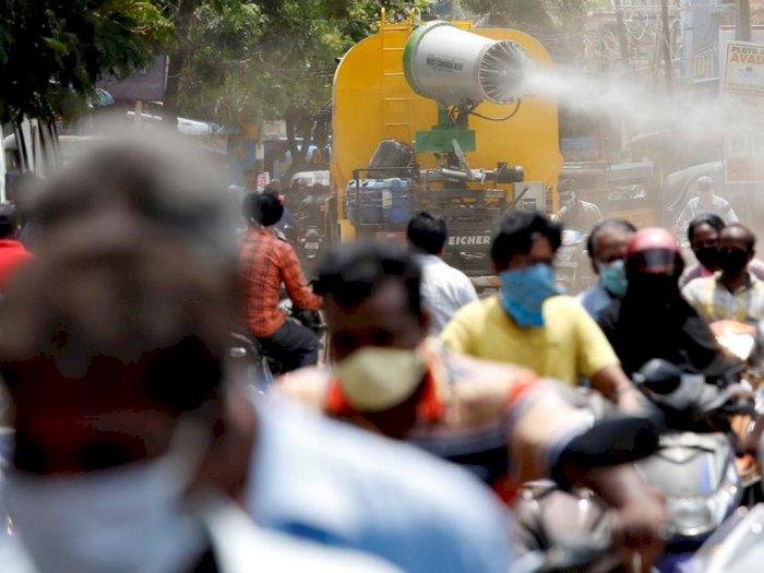 Terus Meningkat, Kasus Covid-19 di India Dekati Angka 10 Juta